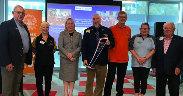 Rotary Marks Centenary